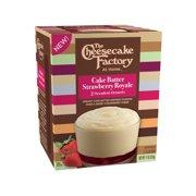 The Cheesecake Factory Cake Batter Strawberry Royale 11oz 2pk55oz
