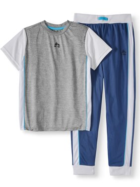 Performance Top and Tricot Jogger Set (Little Boys & Big Boys)