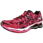 1f5203c7f1ab Mizuno Women's Wave Creation 15 Pink / White Black Ankle-High Fabric Running  Shoe -