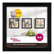 "Better Homes & Gardens 8"" x 8"" Shadowbox Frame, Black"