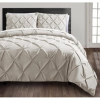 VCNY Home Carmen 4-Piece Pintuck Textured Bedding Comforter Set, Multiple Colors Available