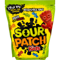 (2 Pack) Sour Patch Kids, Soft and Chewy Candy, 1.9 Lb