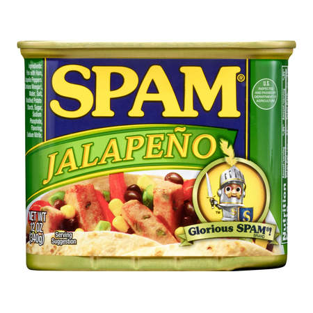 (2 Pack) Spam Jalapeno, 12 Ounce Can