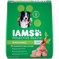 IAMS PROACTIVE HEALTH Adult Minichunks Dry Dog Food Chicken, 30 lb. Bag