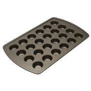 Mainstays 24 Cup Non-Stick Mini Muffin Pan, 1 Each