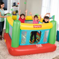 """Fisher-Price 69"""" x 68"""" x 53"""" Bouncer with Built-in Pump and 50 Playballs"""