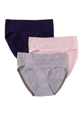 Hanes Women's Ultimate Smooth Tec Hipster Panties - 3 Pack