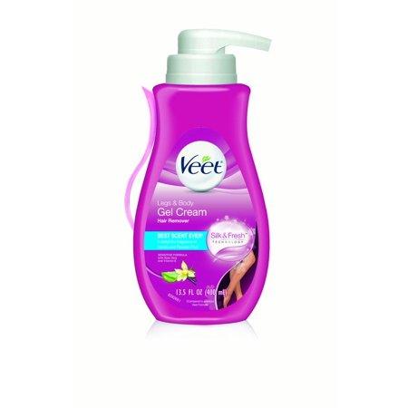Veet Gel Hair Removal Cream For Legs Body 13 52 Oz Walmart Com
