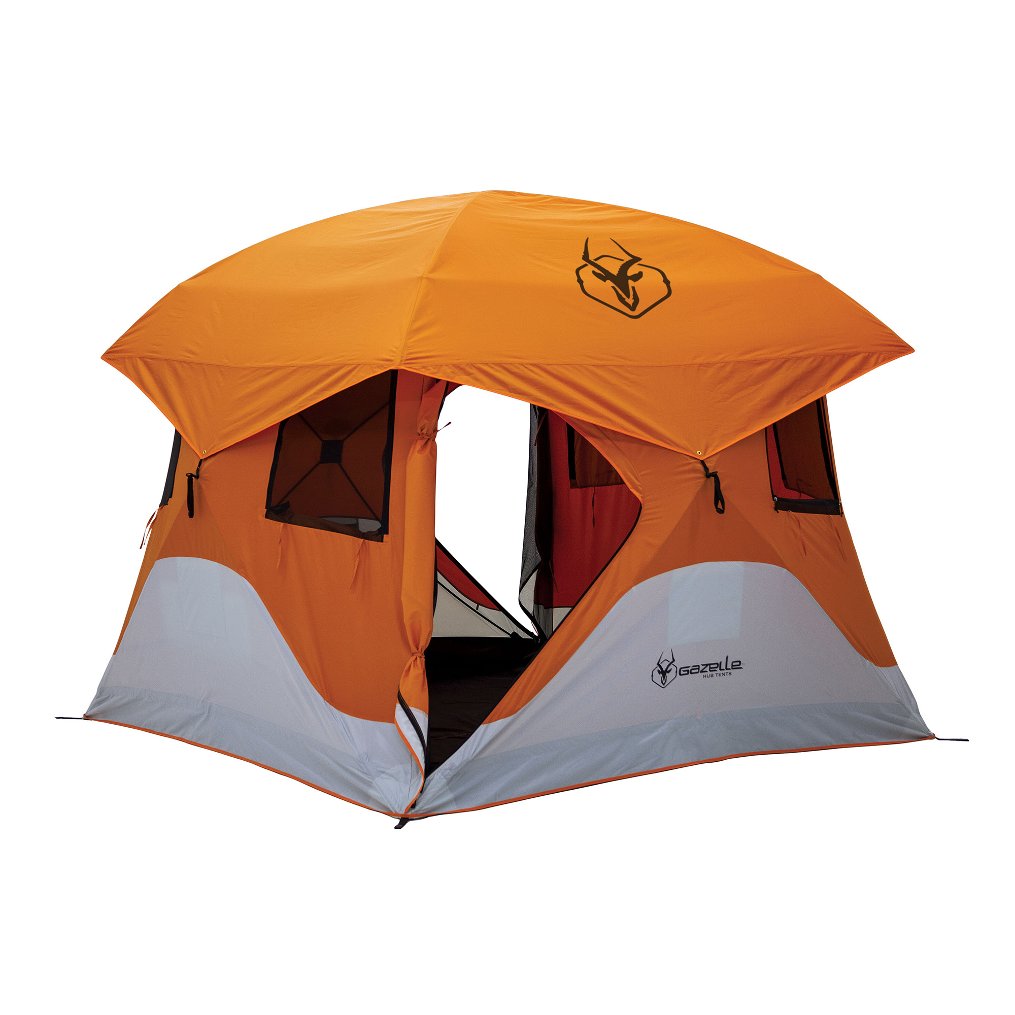 Gazelle T4 94\  x 94\  4 Person Pop Up C&ing Hub Tent with Removable  sc 1 st  Walmart & Pop-up Tents