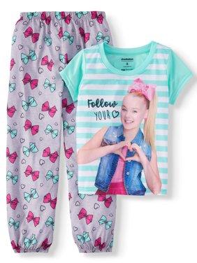 b259aedce7 Product Image Girls  Jojo Siwa 2 Piece Pajama Sleep Set (Little Girl   Big  ...