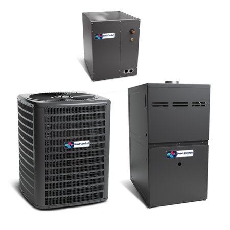 Direct Comfort 5 Ton 16 SEER 2 STAGE AC R410A Air Conditioning Split (Lg Split Ac 1 Ton 5 Star Price)