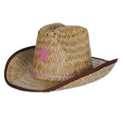 Beistle 50160-P Child Cowboy Hat With Star   Chin Strap fb7affcd23d7