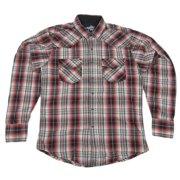 04170557c6 Mens NWT Wrangler 20X Twenty X Western Plaid Pearl Snap Shirt MJ1246M Any  Size