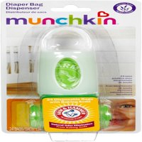3 Pack - Munchkin Arm & Hammer Diaper Bag Dispenser with Bags, Lavender Scent, Colors May Vary 1 ea