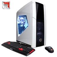 CyberPowerPC Gamer Ultra GUA4900W w/ AMD FX-4300, Nvidia GeForce Gtx 1050 Ti 4 GB, 8GB Memory, 1TB HD and Windows 10 Home Gaming Computer