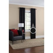 Mainstays Geometric Jacquard Window Curtain Panel Pair