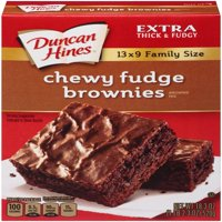 Duncan Hines Chewy Fudge Brownie Mix, 18.3 oz