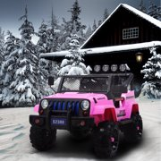 Uenjoy Kids Ride on Cars 12V Electric with Remote Control Motorized Vehicles 2 Speed Pink and Blue