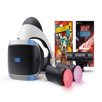 Sony PlayStation 4, PSVR Headset with Borderlands 2 & Beat Saber, Black, 3003264