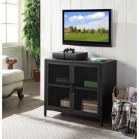 Better Homes & Gardens Multi Function Industrial Media and Accent Cabinet