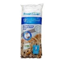 FoodSaver FreshSaver 1-Gallon Vacuum Zipper Bags (12 Count)