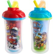 Munchkin Click Lock Insulated Straw Sippy Cup - Paw Patrol, 2 pack