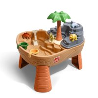 Step2 Dino Dig Sand & Water Table Outdoor Play Table with Dinosaur Toys