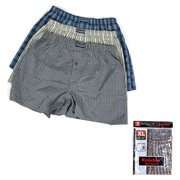 ddd4687ca8b 3 Mens Knocker Boxer Trunk Plaid Shorts Underwear Lot Cotton Briefs ALL  SIZES