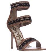 ba36f30e79a8 Womens Sam Edelman Alton Cuff Sandals - Saddle Leopard