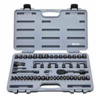 STANLEY STMT71649 50-Piece Mechanics Tools Set, Black Chrome