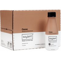 Soylent Meal Replacement Drink, Cacao, 14 FL oz, 12 Ct