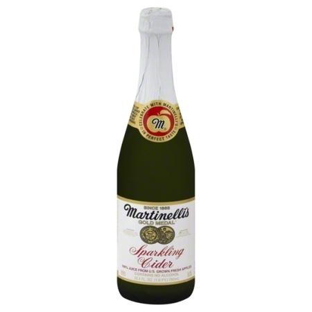 Apple Juice Nectar (Martinelli's Gold Medal Sparkling Cider 100% Juice from Apple, 25.4 Fl. Oz. )