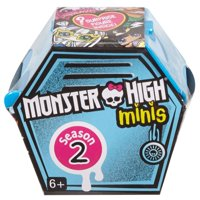 Monster High Mini Collectible Mystery Blind Pack, 1 Figure Included