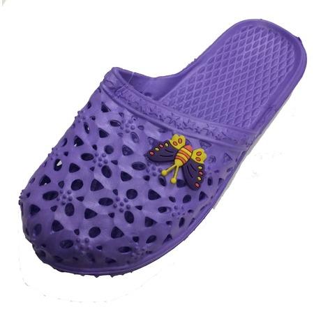 Women Lady Indoor Sandals Home Flats Shoes Shower Slip On Slipper -
