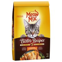 Meow Mix Bistro Recipes Rotisserie Chicken Flavor Dry Cat Food, 12 lb