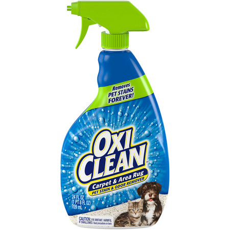 OxiClean Carpet & Area Rug Pet Stain & Odor Remover, 24 fl (Pet Stain And Odor Remover Arm And Hammer)