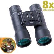 CenterPoint P1 Series 8x42mm Compact Binoculars, Black