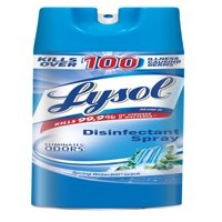 Lysol Disinfectant Spray, Spring Waterfall, 19oz