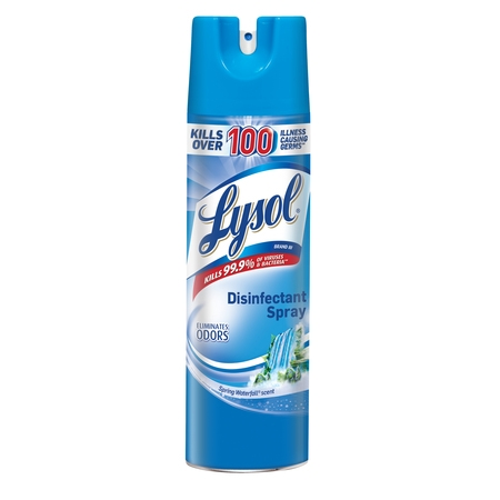 - Lysol Disinfectant Spray, Spring Waterfall, 19oz