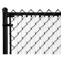 White 6ft Tube Slat for Chain Link Fence