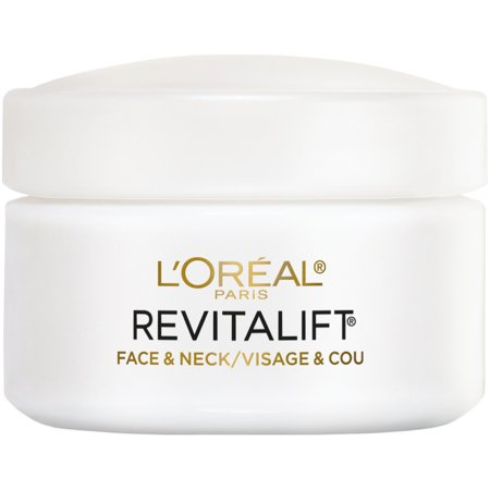 L'Oreal Paris Revitalift Anti-Wrinkle + Firming Face & Neck (Best Day And Night Cream For Sensitive Skin)