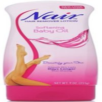 Nair Hair Remover Lotion Softening Baby Oil Comforting Scent, 9.0 Oz