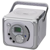 Jensen Portable BT Music System with CD Player