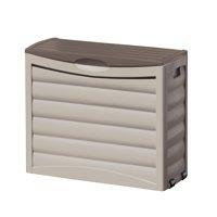 Suncast 63 Gallon Deck Box, Light Taupe, DB6300