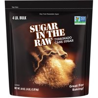 Sugar In The Raw Turbinado Cane Sugar, 4 Lb