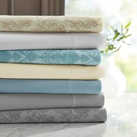 Hotel Style 600 Thread Count Paisley Print Sateen Bedding Sheet Collection