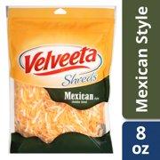 Velveeta Shreds Mexican Style Cheddar Blend 8 oz Pouch