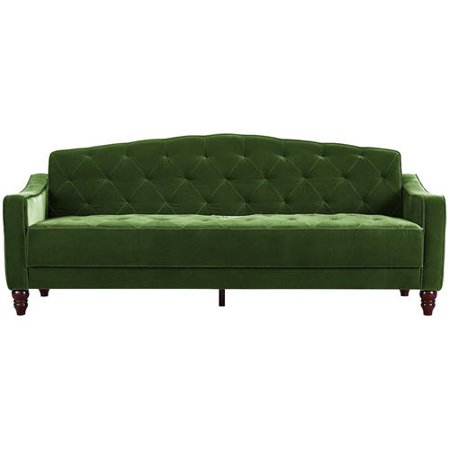 Novogratz Vintage Tufted Sleeper Sofa Bed Ii Multiple