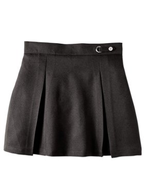 Girls School Uniform Button Side Tab Scooter