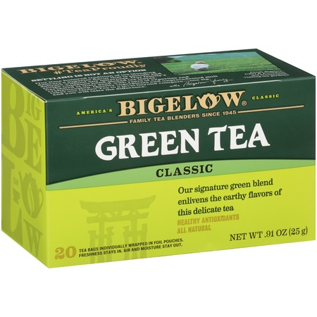 (3 Boxes) Bigelow® Classic Green Tea Bags 20 ct - Osmanthus Green Tea